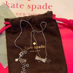 Kate spade ♠️ bow necklace